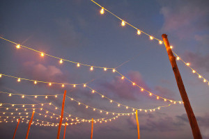 Decorative Lighting Sydney, Festoon Hire