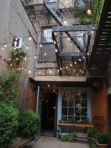 backyard event lighting